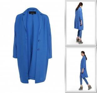 Голубые пальто, пальто lost ink, весна-лето 2015