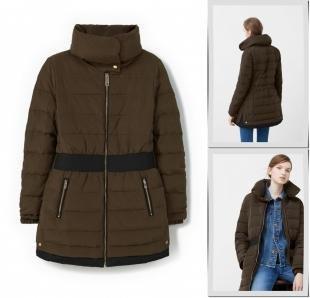 Хаки куртки, куртка mango, осень-зима 2016/2017