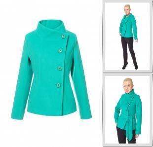 Бирюзовые пальто, пальто московская меховая компания,