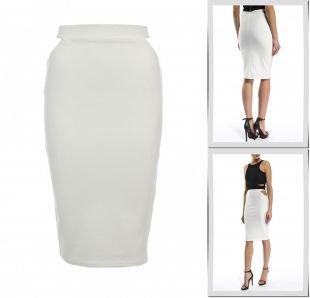Молочные юбки, юбка missguided, весна-лето 2015