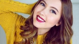 Идеальный макияж, зимний макияж со стрелками
