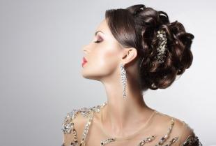 Свадебные прически локоны на длинные волосы, шикарная свадебная прическа