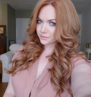"""Светло рыжий цвет волос на длинные волосы, цвет волос """"клубничный блонд"""""""