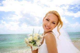Свадебный макияж для серо-зеленых глаз, свадебный макияж для зеленых глаз и светло-рыжих волос