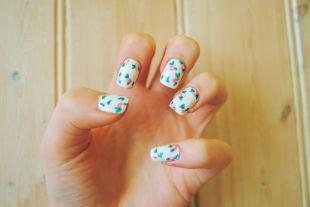 Рисунки на ногтях своими руками, веселый маникюр с сердечками
