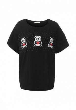 Черные футболки, футболка m&v, весна-лето 2016