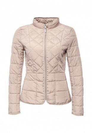 Бежевые куртки, куртка утепленная b.style, весна-лето 2016