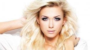 Свадебный макияж для блондинок с голубыми глазами, шикарный макияж для голубых глаз