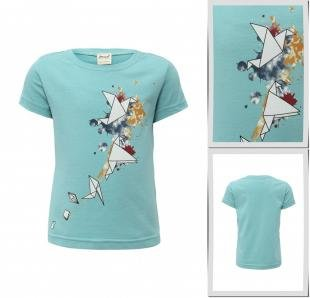 Бирюзовые футболки, футболка ёмаё, весна-лето 2016