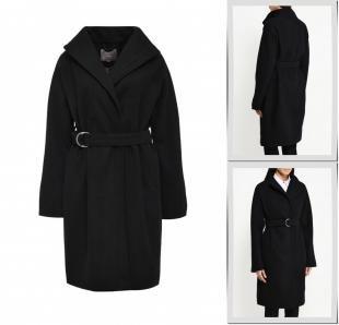 Черные пальто, пальто ichi, осень-зима 2016/2017