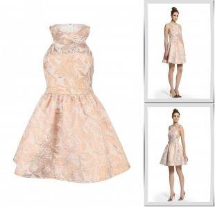 Бронзовые платья, платье lost ink, весна-лето 2015