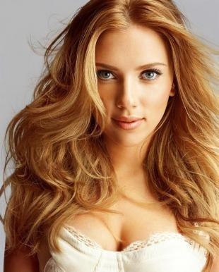 Золотистый цвет волос, бежево-рыжий цвет волос