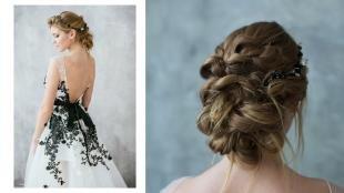 Свадебные прически с диадемой на длинные волосы, оригинальная свадебная прическа