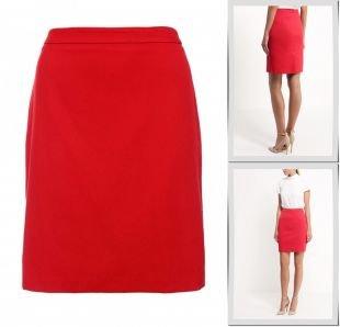 Красные юбки, юбка adl, осень-зима 2016/2017