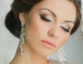Свадебный макияж для карих глаз, фото 2