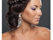 Свадебные прически на средние волосы, фото 6