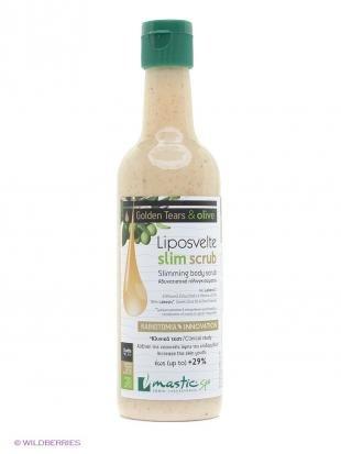 """Скраб для тела от целлюлита, mastic spa скраб для тела способствующий похудению """"liposvelte slim scrub"""""""
