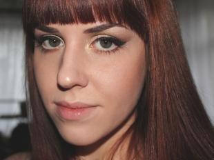 Макияж на выпускной для серых глаз, макияж на новый год с золотистыми тенями