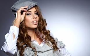 Естественный макияж, модный макияж для шатенки