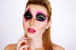 Макияж на Хэллоуин, макияж джокера на хэллоуин