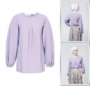 Фиолетовые блузки, блуза bella kareema,