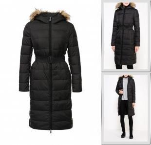 Черные куртки, куртка утепленная incity, осень-зима 2016/2017