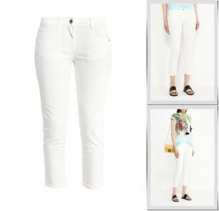 Белые джинсы, джинсы patrizia pepe, весна-лето 2016