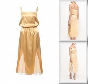 Золотые платья, платье trendyangel, весна-лето 2016