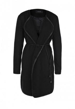 Черные пальто, пальто vila, осень-зима 2015/2016