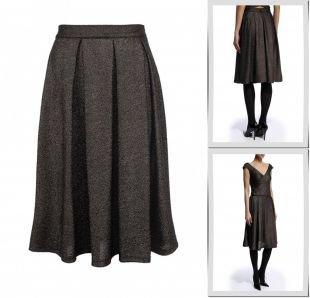 Бронзовые юбки, юбка girls on film, осень-зима 2014/2015