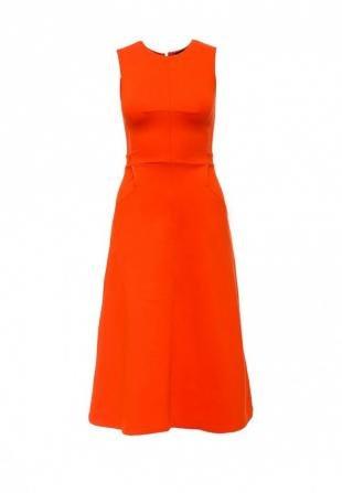 Оранжевые платья, платье french connection, весна-лето 2016
