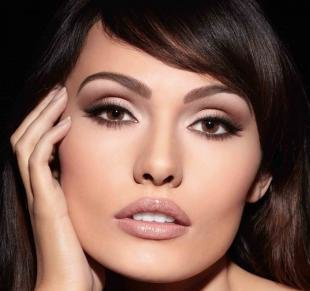 Вечерний макияж для брюнеток с карими глазами, вечерний макияж для темных волос и карих глаз