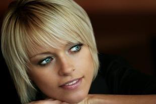Цвет волос скандинавский блондин, стрижка для светлых волос