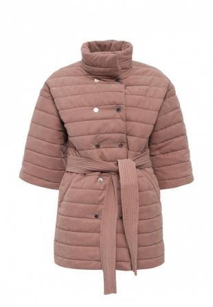 Розовые куртки, куртка утепленная tutto bene, осень-зима 2016/2017