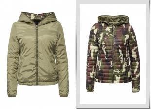 Хаки куртки, куртка утепленная z-design, весна-лето 2016
