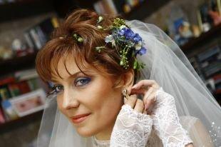 Свадебный макияж для брюнеток с голубыми глазами, свадебный макияж для голубых глаз