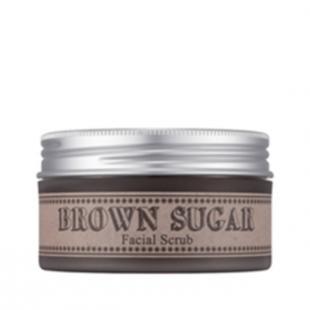 Сахарный скраб для лица, missha brown sugar facial scrub (объем 95 г)