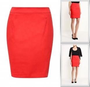 Красные юбки, юбка sela, весна-лето 2016