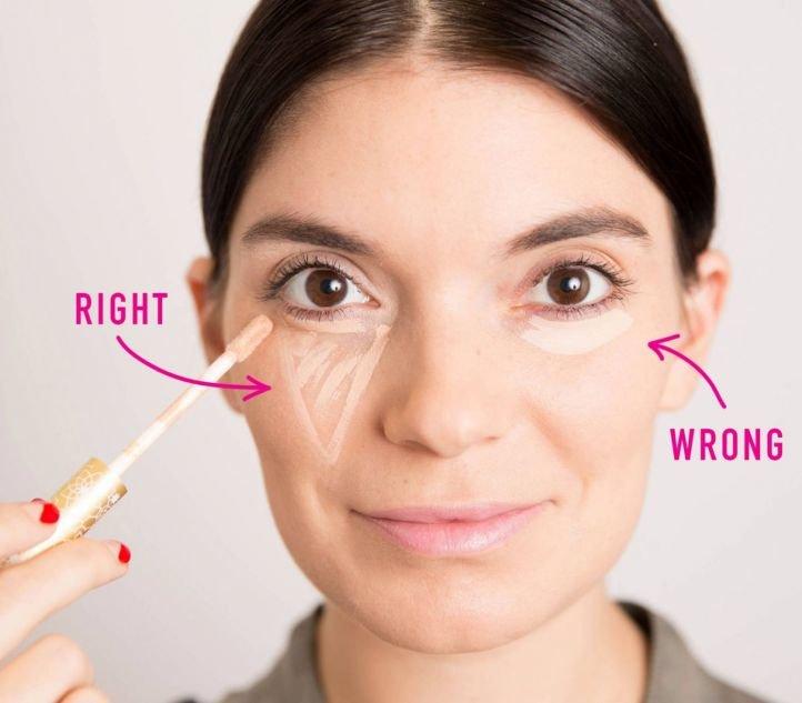 Как увеличивать глаза с помощью макияжа